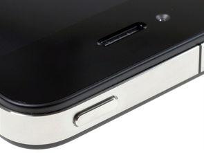 苹果iPhone4 联通版3G手机 黑色 电源键图片