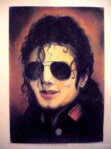 国际纪念流行音乐之王 美国黑人迈克尔 杰克逊 Michael Jackson 艺术...
