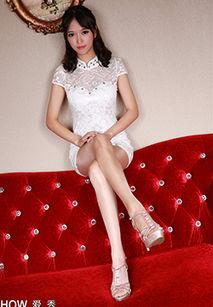 端庄优雅丝袜美女馨雅Adela旗袍气质写真图片-冷艳高贵的少妇迷人长...