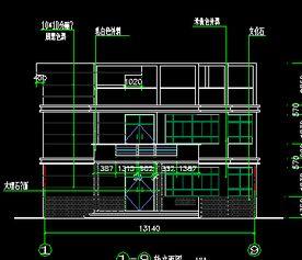 141平米农村自建房设计图免费下载 别墅图纸