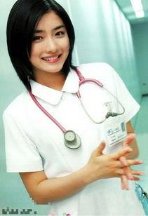 ...堀北真希可爱 日本女星制服诱惑护士装