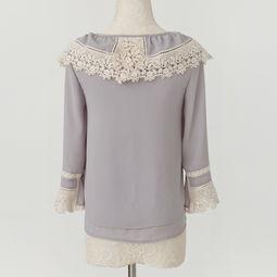 ...纺衫衬衫女CS074 简单网www.J.cn