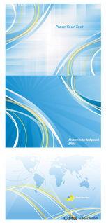 ...底纹背景 花纹边框 矢量素材 红动图爸 设计素材中国网 -蔚蓝背景矢...