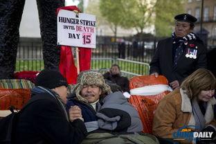 天族改革进行中-当地时间2013年11月21日,英国伦敦,英国军队中的退役尼泊尔族士...