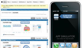 AppMakr 免费的开发移动应用的免代码工具