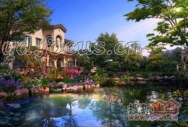 ,4.8米挑高家庭厅、红酒窖、阳光花房、温泉茶室等.   在园林方面,...