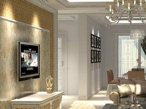 ...7清新雅致电视背景墙图片 房天下装修效果图