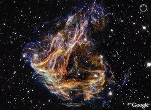 谷歌虚拟天空下最壮观的太空照片