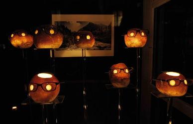 引仙灯-11月13日,在瑞士东北部苏黎世州小城里希特斯维尔,整个小城关闭电...