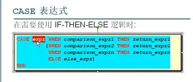 在SQL中使用if then else 语句   SQL99-case语句   decode函数   数据库...