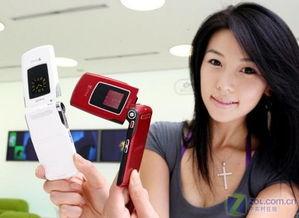 图为韩国三星公司推出的SCH-B750手机-支持DMB的 N93 旋转屏幕三...