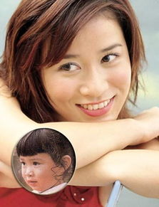 杭州姑娘叶璇,童年照跟现在比起来,还真是那句话――女大十八变,...