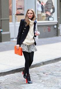 短裙,搭配黑色丝袜和红高跟黑色... 给人的感觉很舒服大气,搭配墨绿...