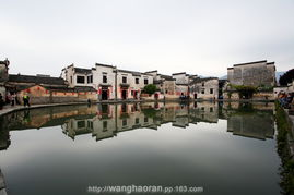 ...又有魔力的美,北京那些人工景点其实整点水就好了呀,哈哈 -宏村 ...