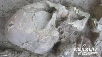 畸骨-墨西哥 古墓 发现畸形 头骨 考古学家证实并非外