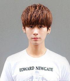韩式男生发型