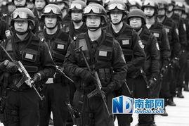 ...田警方在市会展中心北广场集结,启动反恐特别行动队巡逻勤务.南...