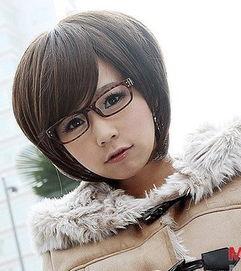 戴眼镜女性短发发型 短发发型图片2016女戴眼镜 发型师姐
