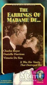 伯爵夫人的耳环 录影带封套-图片打分欢迎进入图片打分游戏,你的选...