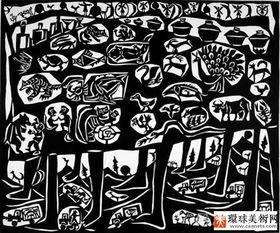乔晓光 剪纸与世界漫无强界关联的可能