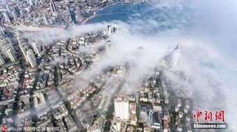 幻空之域-...海雾中 如梦幻天空之城