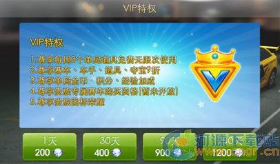 天天飞车贵族 VIP特权 怎么样 天天飞车贵族 VIP特权 值不值得买
