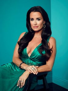 Real Housewives of Beverly Hills star Kyle Richards-明星跳水图1