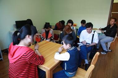 湖南省衡阳市特殊教育学校教师来启智学校交流学习