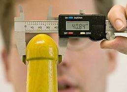 刻度避孕套测阴茎尺寸