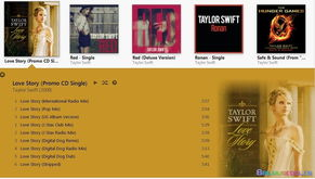 Taylor Swift Love Story Promo CD 全8个版本高品质AAC