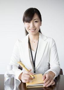 自信笑容的白领美女图片素材 图片ID 77793 商务人士 人物图片
