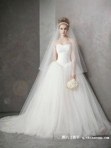 vera wang婚纱价格 vera wang官网Vera Wang2012春夏Bridal系列婚纱