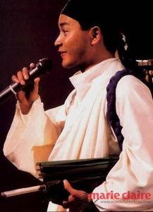 88年演唱会宁采臣造型-四月一缅怀哥哥 张国荣风华绝代的那些大牌装