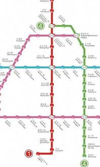 长春市地铁2号线-导航线路图怎么做
