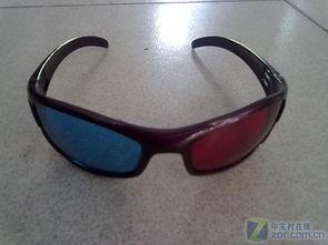 图为:红蓝3D眼镜-光与眼镜的魔术 你好3D