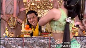 冯绍峰浮夸猥琐的表演真是把色皇帝的形象塑造的出神入化,让我们不...