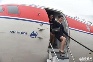 高丽航空开通济南航线 朝鲜空姐低调亮相