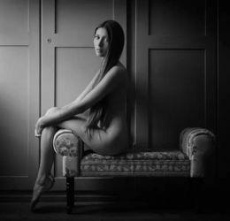 瑞士人体摄影师复古私房人像摄影 性感是由内而外散发的味道