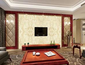 ...时尚客厅大理石瓷砖电视背景墙