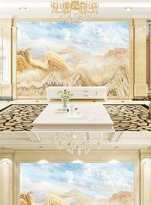 高清石纹背景墙万古晴空图片设计素材 模板下载 575.99MB 大理石背...