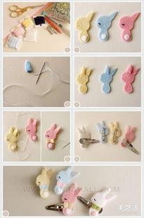 手工制作简单的布艺蝴蝶结