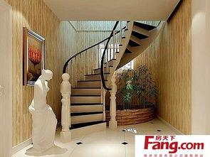 别墅楼梯装修效果图欣赏