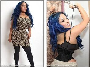 女模特穿紧身衣7年,终于塑成16寸细腰 16寸