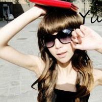 2012qq女生戴眼镜头像