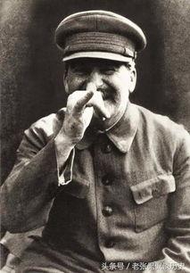 (约瑟夫.斯大林的警卫队长尼古拉.弗拉西克为他拍摄的一张搞怪照片...