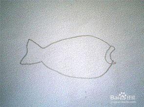 简笔画鲤鱼的画法