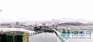 位于桥南的圆山新城,将成为漳州未来中心城区-漳州重新布局城市总...