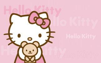hello kitty 高清桌面壁纸 之粉色约会