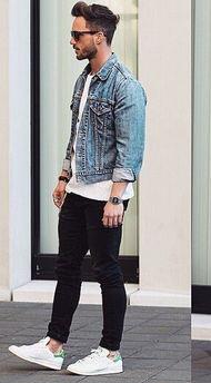 牛仔外套配什么裤子好看 男牛仔外套配什么裤子好看