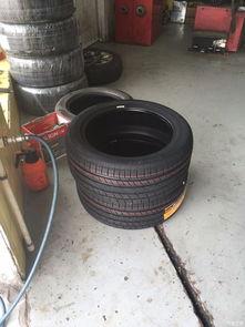 轮胎P7换MC5归来作业